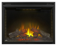Ascent Electric Fireplace - Clear