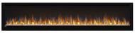 Napoleon Alluravision™ 74 Deep Depth Electric Fireplace - Glass Front, Black - NEFL74CHD
