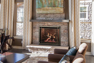 Empire Rushmore 36 with TruFlame Technology Clean-Face Direct-Vent Fireplace