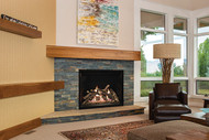 Empire Rushmore 40 with TruFlame Technology Clean-Face Direct-Vent Fireplace
