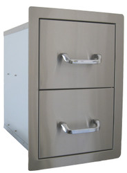 Beefeater Stainless Steel Built-in Double Drawers - 24200US