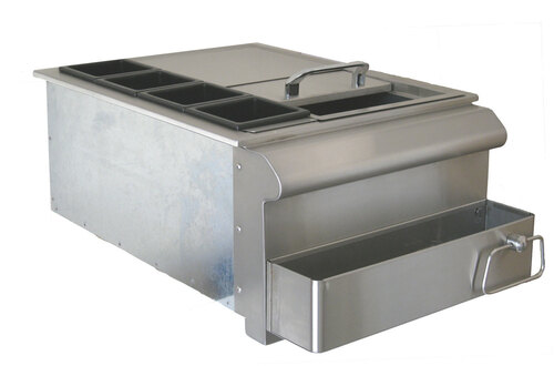 Beefeater Stainless Steel 18 Inch Bar Centre - 25200