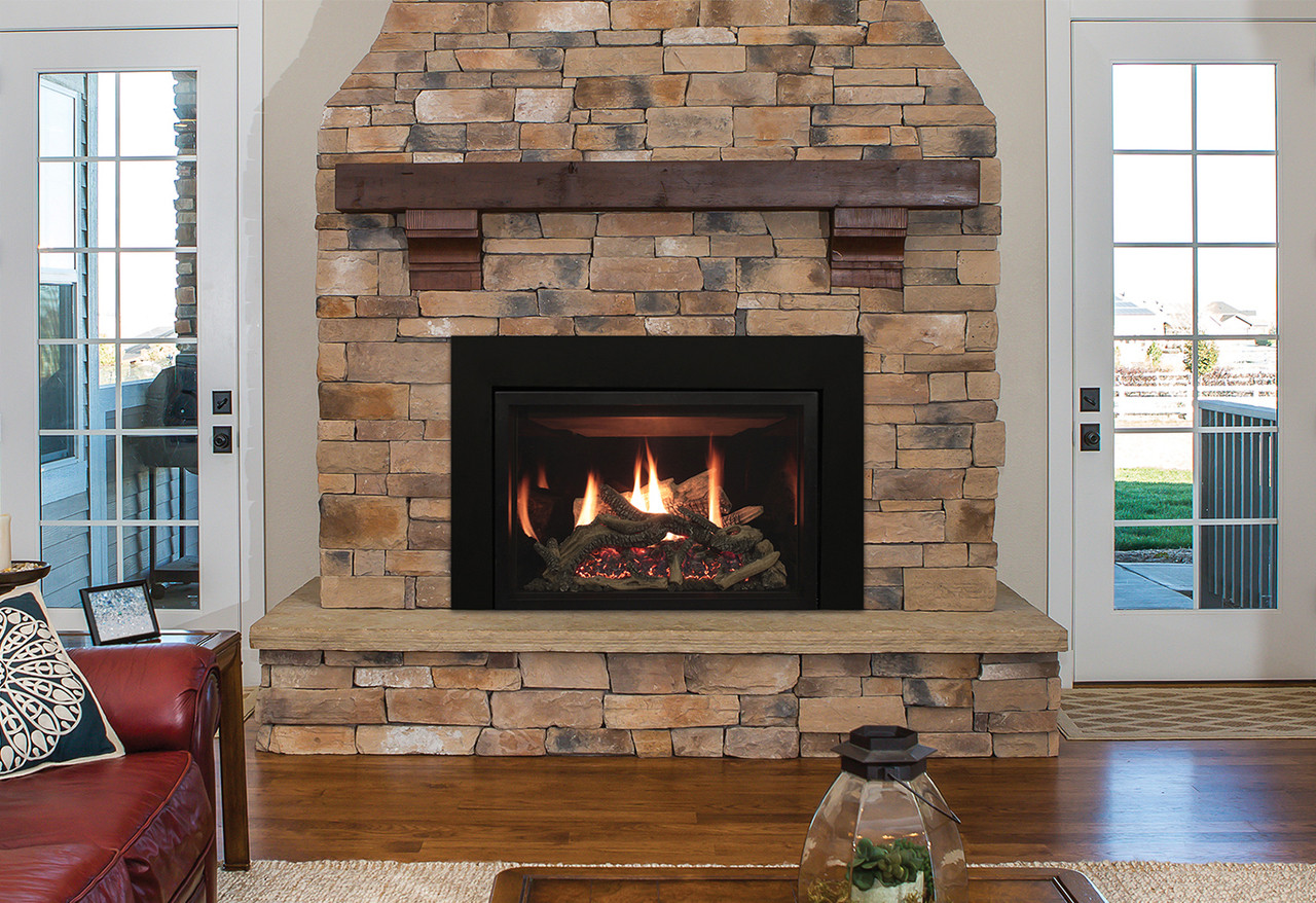Rushmore Direct Vent Fireplace Insert With Truflame Technology