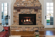 Rushmore Direct-Vent Fireplace Insert with TruFlame Technology - Traditional 35 - DVCT35CB