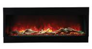 Amantii 60-TRU-VIEW-XL – 3 sided 60 inch Wide Electric Fireplace