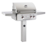 "AOG 24"" T-Series In-Ground Post BBQ - Primary Cooking Surface 432 sq. inches"