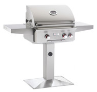 "AOG 24"" T-Series Patio Post BBQ - Primary Cooking Surface 432 sq. inches"