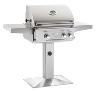"AOG 24"" L-Series Patio Post BBQ - Primary Cooking Surface 432 sq. inches"