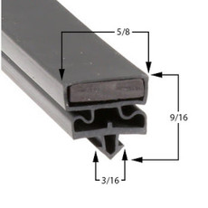 Styleline Gasket 29 3/4 x 80