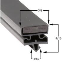 Styleline 5595BCK3 Gasket 29 3/4 x 63 1/8