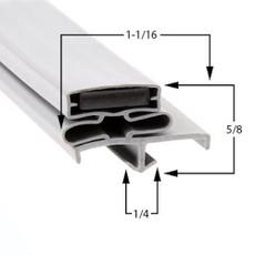 Traulsen Gasket 21 1/2 x 23 1/2 - Profile 165