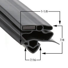 True Mfg 810719 Gasket 26 3/4 x 54 1/4