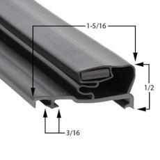 Schott Gemtron Gasket 3M-0016-092 23 3/8 x 56 9/16