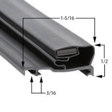 Schott Gemtron Gasket 3M-0016-201 20 13/16 x 52 13/16