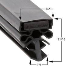 Traulsen Gasket 22 3/4 x 29 1/2 - Profile 504
