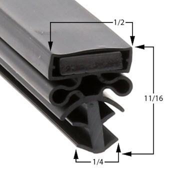 Traulsen Gasket 23 1/2 x 29 1/2 - Profile 504