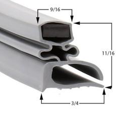 Kelvinator Gasket  26 3/4 x 55 1/2