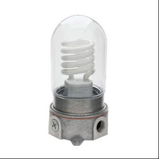 Vaporproof Fixture with Coated Globe - Kason 1804 Series