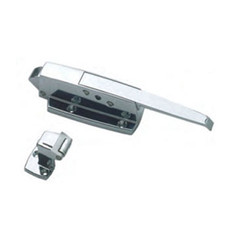 "Generic Latch and Strike, 3/4"" to 1 5/8"" Offset with Lock"