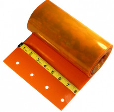 "SAFETY ORANGE - Single Replacement Strip - 8"" x 120"""
