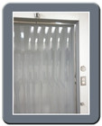 "Generic Cooler Strip Curtain Kit - 40"" x 84"""