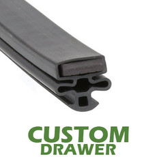Profile 010 - Custom Drawer Gasket