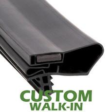 Profile 782 - Custom Walk-in Door Gasket