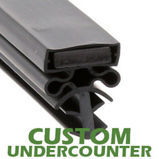 Profile 504 - Custom Undercounter Door Gasket