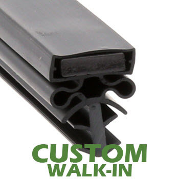 Profile 504 - Custom Walk-in Door Gasket