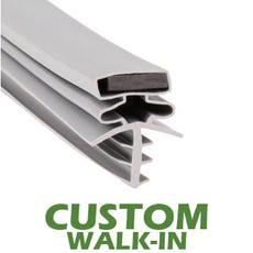 Profile 301 - Custom Walk-in Door Gasket