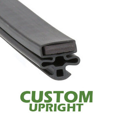 Profile 010 - Custom Upright Door Gasket