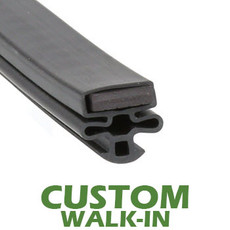Profile 010 - Custom Walk-in Door Gasket
