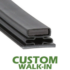 Profile 716 - Custom Walk-in Door Gasket