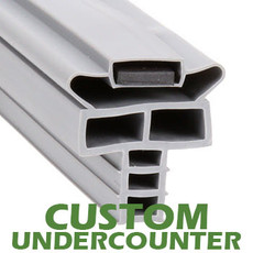 Profile 714 - Custom Undercounter Door Gasket