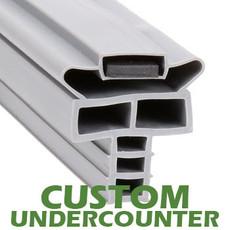 Profile 714 - Custom Undercounter Door Gasket