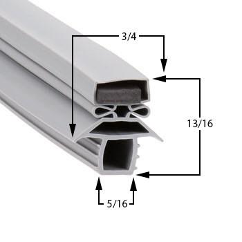 Profile 691 - Custom Undercounter Door Gasket