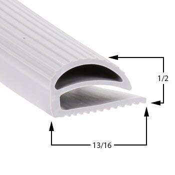 Profile 048 - Custom Upright Door Gasket