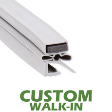 Profile 590 - Custom Walk-in Door Gasket