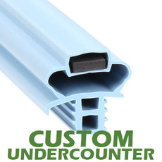 Profile 891 - Custom Undercounter Door Gasket