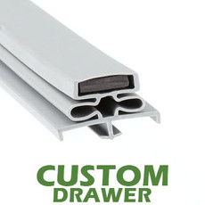 Profile 166 - Custom Drawer Gasket