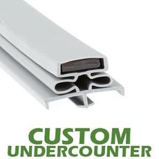 Profile 166 - Custom Undercounter Door Gasket