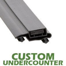 Profile 612 - Custom Undercounter Door Gasket