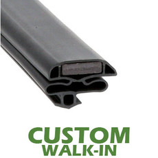 Profile 632 - Custom Walk-in Door Gasket