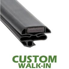Profile 632 - Custom Walk-in Door Gasket