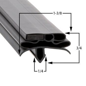 Profile 582 - Custom Undercounter Door Gasket