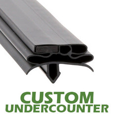 Profile 582 - Custom Undercounter Door Gasket