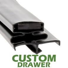 Profile 164 - Custom Drawer Gasket