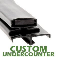 Profile 164 - Custom Undercounter Door Gasket