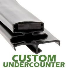 Profile 164 - Custom Undercounter Door Gasket