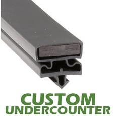 Profile 548 - Custom Undercounter Door Gasket
